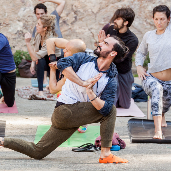 Rocket Yoga Class with David C. Kyle - Barcelona