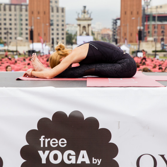 Free Yoga By Oysho - Yoga Photography