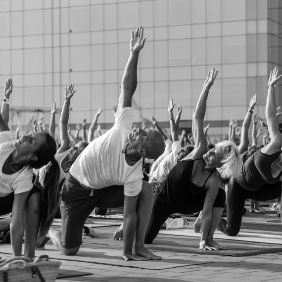 Yoga Day by DiR - Yoga Photography