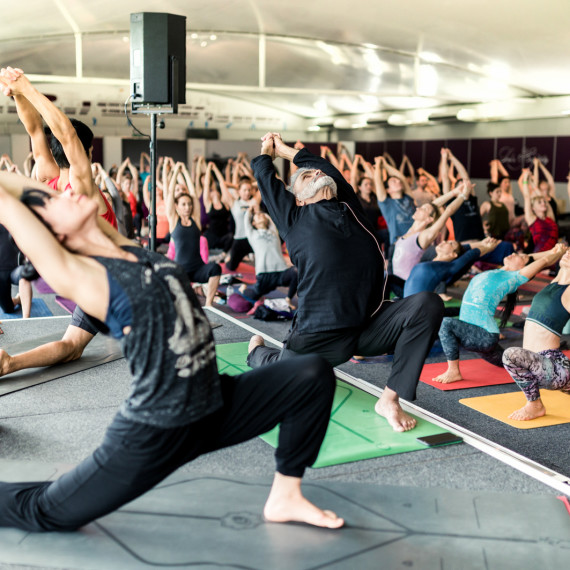 Sri Dharma Mittra at Indaba London