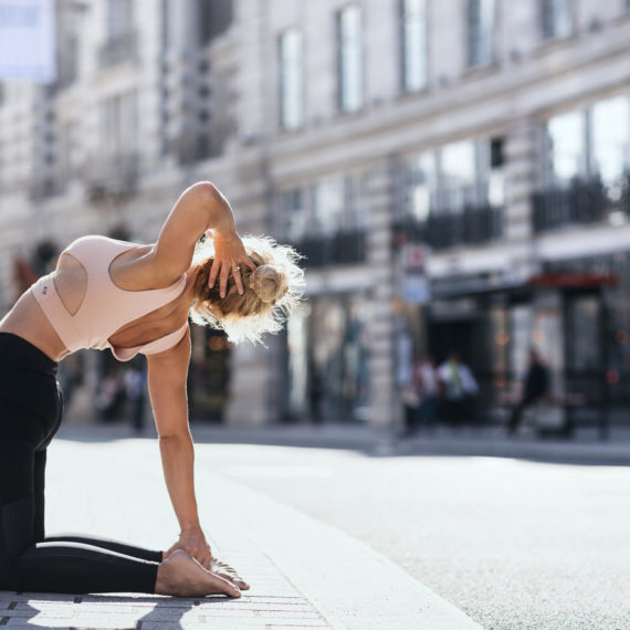 London Yoga Photography