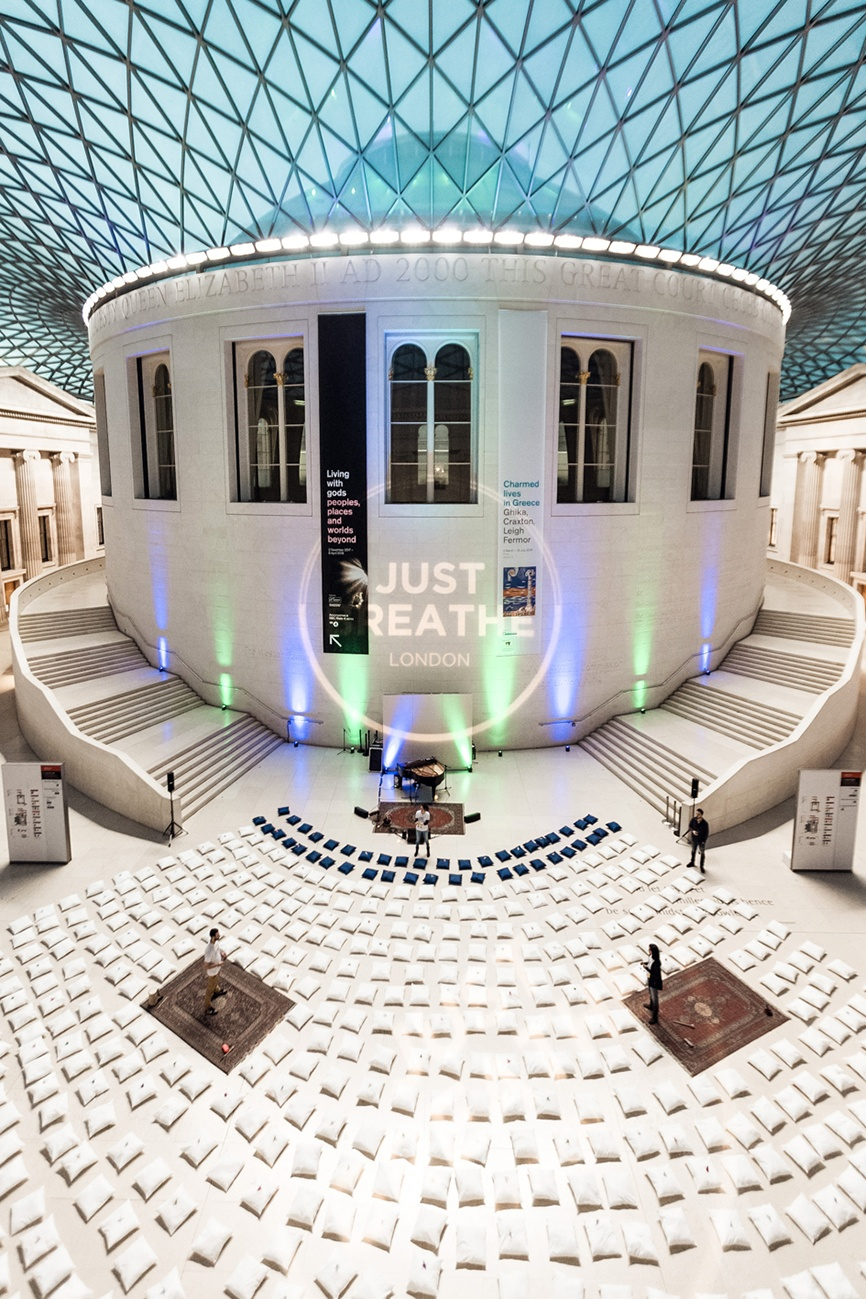 Meditation at the British Museum